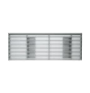 General Electric Appliances 42 x 16 in. Commercial Return Grille Aluminum GRAG67