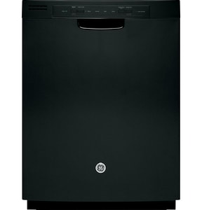 General Electric Appliances 24 in. Tall Tube Built-In Electric Dishwasher in Black GGDF510PGDBB