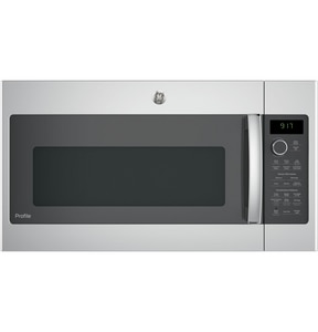 General Electric Appliances Profile™ 1.7 cf Over-the-Range Convection Microwave Oven in Stainless Steel GPVM9179SKSS