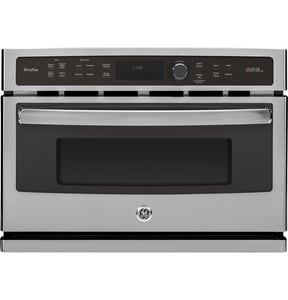 General Electric Appliances Profile™ 26-3/4 in. 1.7 cf Single Electric Convection Wall Oven in Stainless Steel GPSB9100SFSS