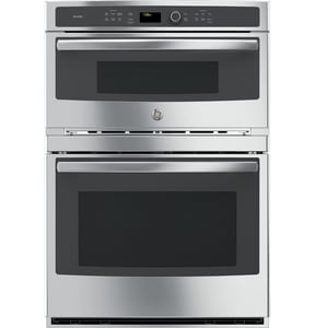 General Electric Appliances Profile™ 29-3/4 in. Combination Convection Microwave/Convection Wall Oven in Stainless Steel GPT7800SHSS