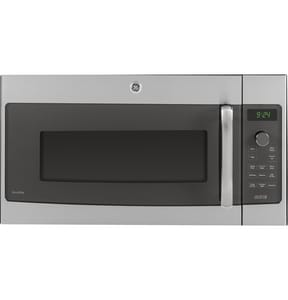 General Electric Appliances Profile™ 29-7/8 in. 1.7 cf Over The Range Convection Microwave Oven in Stainless Steel GPSA9240SFSS