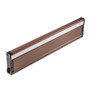 Kichler Lighting 8U Series 18-1/2 in. 20W Premium LED Under-Cabinet Light in Bronze Textured KK8U30K18BZT