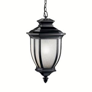 Kichler Lighting Salisbury™ 200W 1-Light Medium Base Pendant in Black KK9843BK