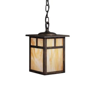 Kichler Lighting Alameda 100W 1-Light Medium E-26 Incandescent Outdoor Hanging Pendant in Canyon View KK9849CV