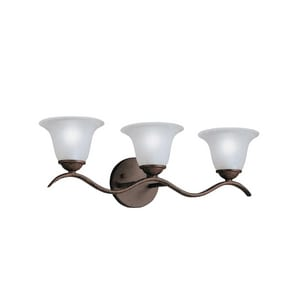 Kichler Lighting Dover 100W 3-Light Medium Base Wall Sconce KK6323