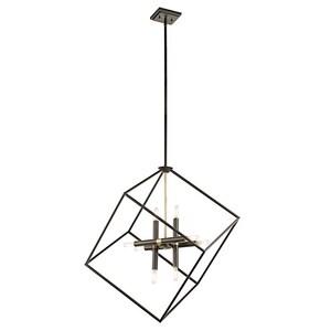 Kichler Lighting Cartone 40W 8-Light Pendant in OldeBronze KK42526OZ