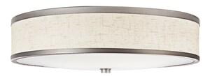 Kichler Lighting 21-1/2 in 54W 3-Light Fluorescent Flush Mount Ceiling Fixture in Champagne KK10824CP