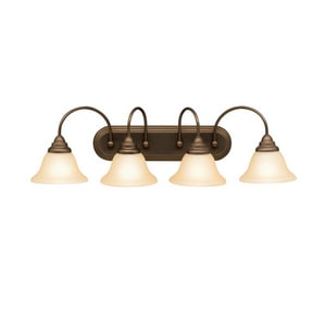 Kichler Lighting Telford 9 in. 100 W 4-Light Medium Bracket in Olde Bronze KK5994OZ