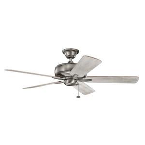 Kichler Lighting Terra 52 in. 5-Blade Ceiling Fan in Burnished Antique Pewter KK330247BAP