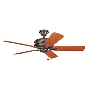 Kichler Lighting Terra 69W 5-Blade Ceiling Fan in Oil Brushed Bronze KK330247OBB