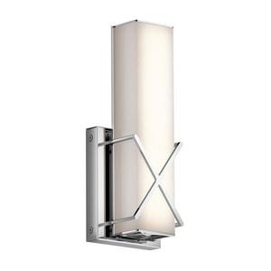 Kichler Lighting Trinsic LED Wall Sconce in Polished Chrome KK45656CHLED
