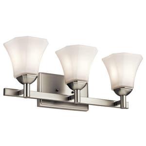 Kichler Lighting Serina 100W 3-Light Bath Vanity Light KK45733