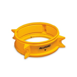 Manhole Shield Yellow (12 in. H Fits 28 30 and 32 in. Diameter Manholes) A940112 at Pollardwater