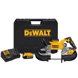 DEWALT Max® XR 20-3/4 in. Cordless Deep Cut Lithium-Ion Band Saw Kit DDCS374P2 at Pollardwater