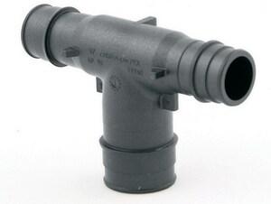 Uponor ProPEX® 2-1/2 x 2-1/2 x 2 in. Reducing PEX Tee UQ475