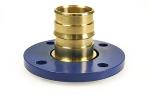 Uponor ProPEX® 2-1/2 x 2-1/2 in. PEX Flanged Adapter Kit ULF298