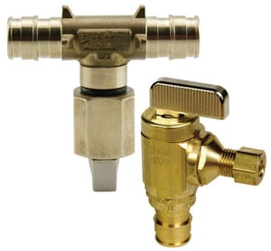 Uponor ProPEX® 1/2 x 1/4 in. Icemaker Angle Valve ULF4785025