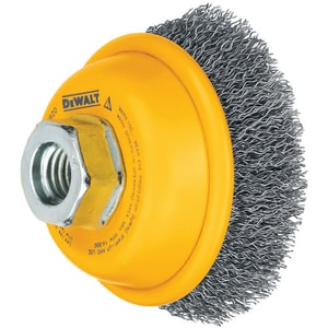 DEWALT 3 in. Ferrous Metal Cup Brush DDW4920 at Pollardwater