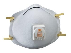 3M Part Respirator in White E13531