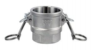FNW® 4 in. Female Coupler x FNPT Stainless Steel Coupling FNWCGDSSP