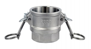 FNW® 2-1/2 in. Female Coupler x FNPT Type D 316 and CF8M Stainless Steel Adapter FNWCGDSSL