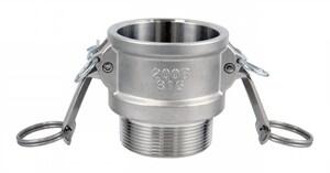 FNW® 2 in. Female Coupler x MNPT Stainless Steel Coupling FNWCGBSSK
