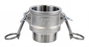 FNW® 1-1/2 in. Female Coupler x MNPT Stainless Steel Coupling FNWCGBSSJ