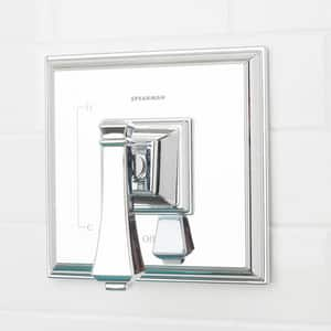 Speakman Rainier™ Shower Valve Trim with Single Lever Handle in Polished Chrome SCPT8000P