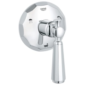 GROHE Kensington Single Handle Bathtub & Shower Faucet in StarLight® Polished Chrome (Trim Only) G19272000
