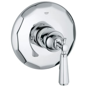 GROHE Kensington Single Handle Bathtub & Shower Faucet in StarLight® Polished Chrome (Trim Only) G19267000