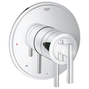 GROHE Atrio Pressure Balancing Valve Trim with Control Module in Starlight Polished Chrome G19867000