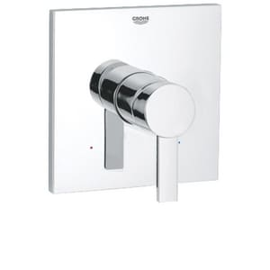 GROHE Allure Pressure Balancing Valve Trim Set with Metal Lever Handle in Starlight Polished Chrome G19375000