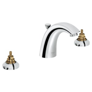 GROHE Arden™ Two Handle Widespread Bathroom Sink Faucet in StarLight Polished Chrome G2012100A