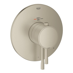 GROHE GrohFlex Essence Thermostatic Trim with Control Module in Starlight Brushed Nickel G19987EN1