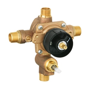 GROHE Grohsafe® 1/2 in. MNPT and Copper Sweat Pressure Balancing Valve G35016000