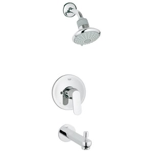 Grohe Eurosmart Cosmopolitan Single Handle Dual Function Bathtub & Shower Faucet in StarLight® Polished Chrome (Trim Only) G35019000