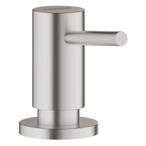 GROHE® Cosmopolitan 2-15/16 in. 16.90 oz Kitchen Soap Dispenser in SuperSteel Infinity G40535
