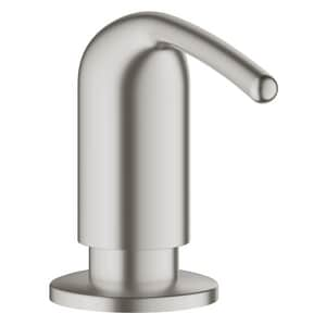 Grohe Ladylux™ 3-3/16 in. 16.90 oz Kitchen Soap Dispenser in SuperSteel Infinity G40553