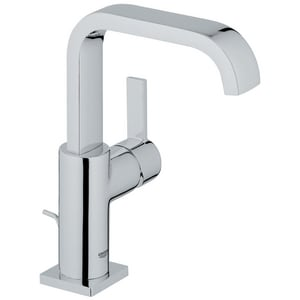GROHE® Allure Single Handle Vessel Filler Bathroom Sink Faucet in StarLight Polished Chrome G3212800A