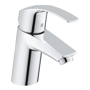 Grohe Eurosmart® Single Handle Monoblock Bathroom Sink Faucet in StarLight Polished Chrome G3264300A