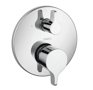 Hansgrohe S/E Pressure Balancing Trim with Diverter in Polished Chrome H04448000