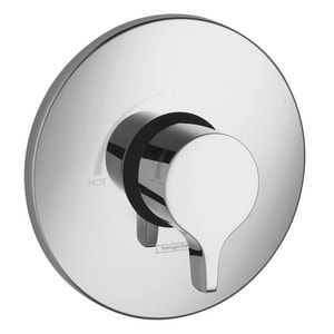 Hansgrohe S/E Single Lever Handle Pressure Balancing Trim in Polished Chrome H04355000