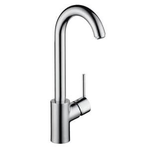 Hansgrohe Talis S Single Lever Handle Bar Faucet in Polished Chrome H04287000