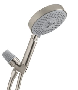 Hansgrohe Raindance S Multi Function Hand Shower in Brushed Nickel H04187823