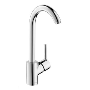 Hansgrohe Talis S Single Handle Kitchen Faucet in Polished Chrome H04870000