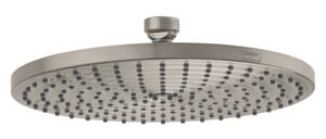 Hansgrohe Raindance S Single Function RainAir Showerhead in Brushed Nickel H27474821