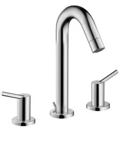 Hansgrohe Talis S Two Handle Widespread Bathroom Sink Faucet in Polished Chrome H32310001