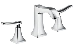 Hansgrohe Metris C Two Handle Widespread Bathroom Sink Faucet in Polished Chrome H31073