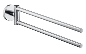 Hansgrohe S/E 15-1/2 in. Towel Bar in Polished Chrome H40512000
